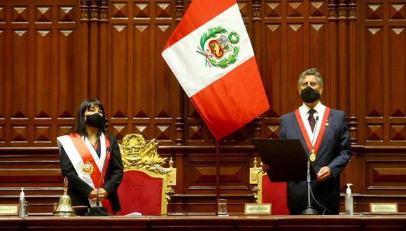 En la última semana, varios legisladores han advertido de que algunos grupos políticos con representación parlamentaria estarían tratando de desestabilizar a la Mesa Directiva, presidida por Mirtha Vásquez, y al gobierno de transición de Francisco Sagasti. (Foto: Presidencia).