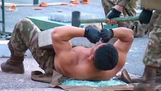 Corea del Norte: Soldados participaron en varias pruebas de resistencia frente a Kim Jong-Un