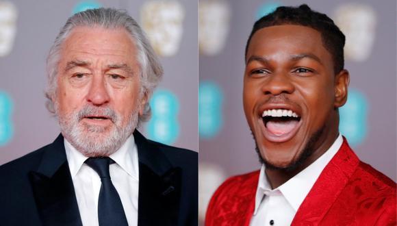 """Robert De Niro y John Boyega serán los protagonistas de """"The Formula"""". (Foto: AFP)"""