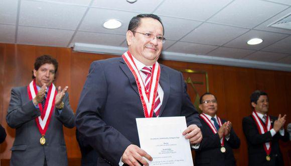 Luis Arce Córdova es magistrado del JNE. (Foto: CNM)