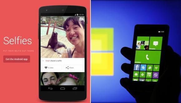 Una red social móvil y un smartphone ¡solo para selfies!