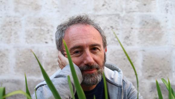 Hay Festival 2019. Santiago Beruete (Pamplona, 1961) es autor de los libros Jardinosofia y Verdolatria. Foto: Alessandro Currarino.
