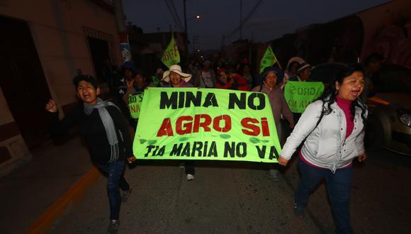 """""""En tanto no se zanje el conflicto social definitivamente este proyecto no avanzará"""", aseguró Zeballos. (Foto: GEC)"""