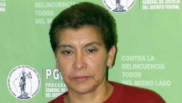 "Juana Barraza, conocida como ""la mataviejitas"". (Foto: Getty Images)."