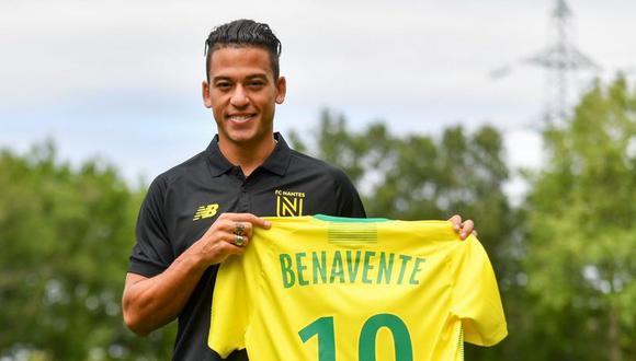 Benavente llevará el dorsal '10' en el Nantes. (Foto: AFP)