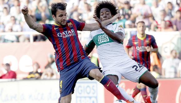 Barcelona igualó 0-0 en su visita a Elche y aún puede campeonar