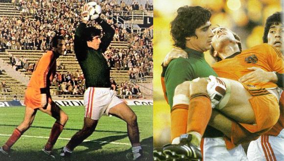 Ramón Quiroga fue la gran figura en ese partido. (Fotos: Revista La Copa)