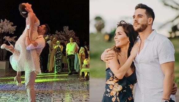 Carmen Villalobos y Sebastián Caicedo se dieron el sí en Cartagena. (Foto: Instagram)