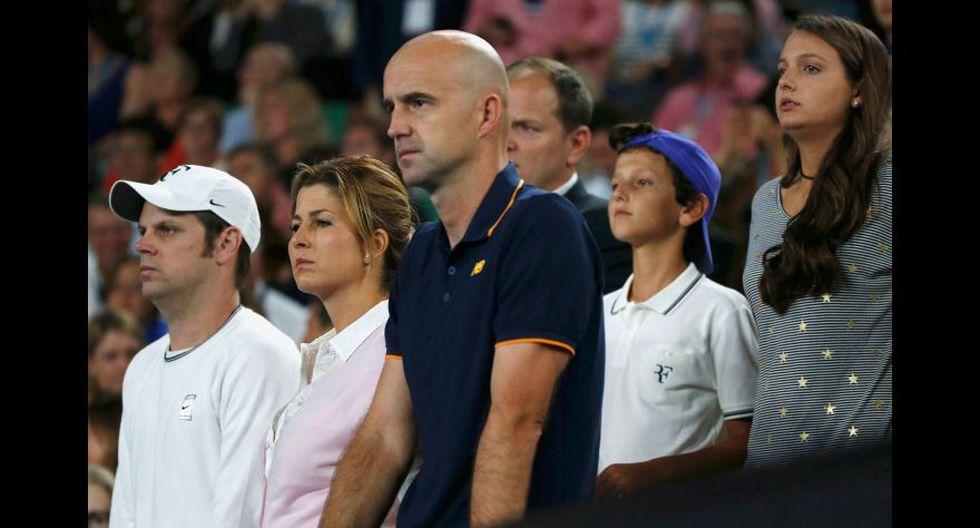 Así vivieron la final las parejas de Federer y Nadal [FOTOS] - 9