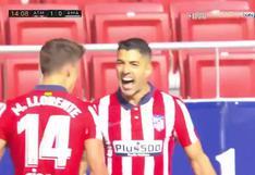 El golazo de Luis Suárez que ilusionó al Atlético de Madrid: definición a tres dedos y festejo ante Real Madrid [VIDEO]
