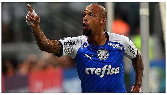 Felipe Melo es una de las tantas estrellas que militan en el Palmeiras brasileño esta temporada. (Foto: AFP)