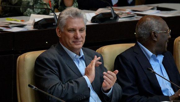 El presidente de Cuba, Miguel Diaz-Canel, en una imagen del 21 de diciembre del 2018. (Foto: YAMIL LAGE / AFP).