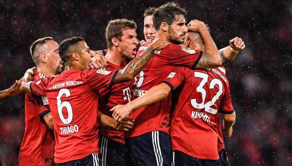 Bayern Múnich venció 3-1 al Hoffenheim por la primera fecha de la Bundesliga. (Foto: AFP)