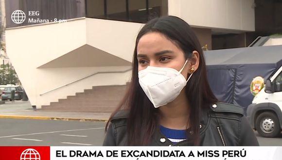 La joven denunció que es acosada tras la difusión de videos íntimos con su expareja. (América Televisión)