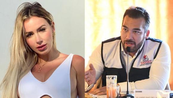 Jamila Dahabreh niega relación sentimental con Álvaro Paz de la Barra. (Foto: @jamiladahabreh/@apblamolina).