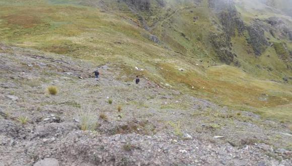 Huancavelica: una gestante muerta y cuatro heridos deja despiste de automóvil