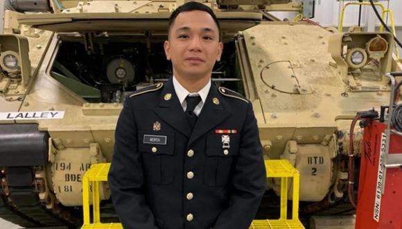 Mejhor Morta accedió al Ejército de Estados Unidos el pasado mes de setiembre de 2019. (US Army).