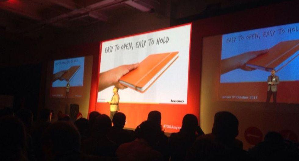 La Yoga Tablet 2 Pro y las novedades de Lenovo en imágenes - 1