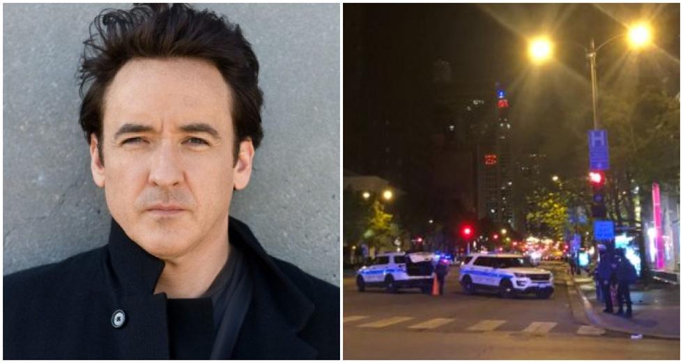 Actor de Hollywood John Cusack es agredido por la policía de Chicago cuando protestaba por la muerte de George Floyd. (Foto: Twitter)