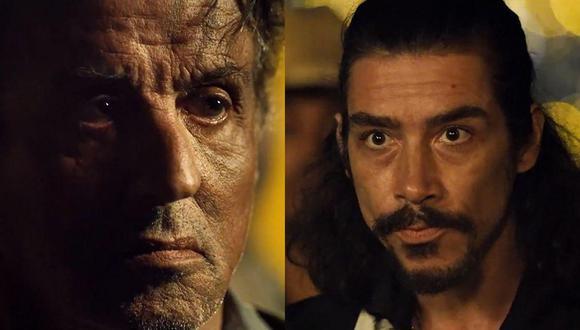 """En """"Rambo: Last Blood"""", Oscar Jaenada interpreta a un hombre que comete el peor error de su vida: cruzarse con Rambo (Sylvester Stallone). Fotos: Difusión."""