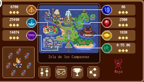 Son siete pruebas las que debes superas en el doodle Isla de Campeones. (Foto: Google)