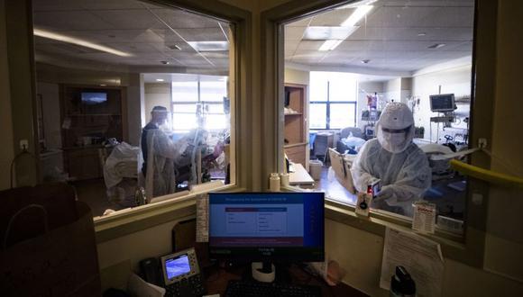Coronavirus en Estados Unidos | Últimas noticias | Último minuto: reporte de infectados y muertos hoy, domingo 07 de febrero del 2021 | Covid-19. (Foto: EFE/EPA/ETIENNE LAURENT).