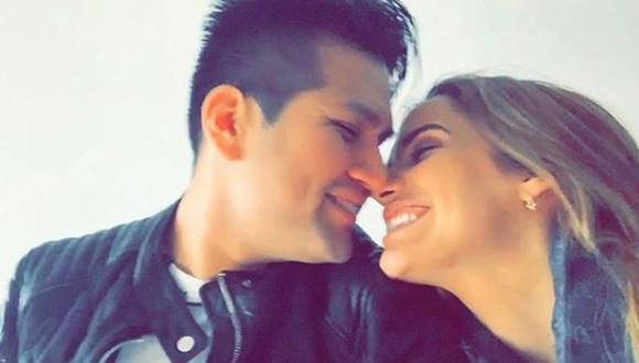 Deyvis Orosco y Cassandra Sánchez De Lamadrid en fotos compartidas en Instagram.