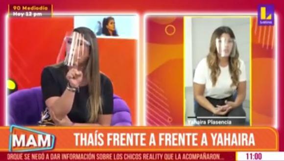 Thais Casalino hace aclaración tras entrevistar a Yahaira Plasencia. (Foto: captura de video)