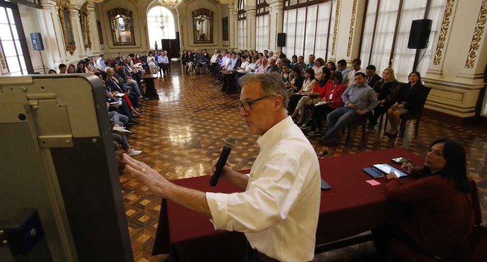 Jorge Muñoz ha dicho que en la escala del 1 al 10, el 'pico y placa' ha funcionado en 7, en lo que va de su implementación. (Foto: Miguel Bellido)