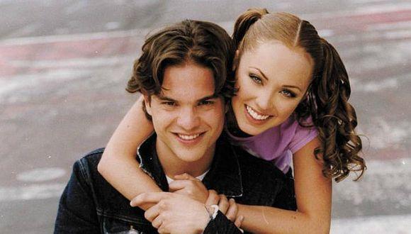 """""""Primer amor a mil por hora"""" fue una de las novelas juveniles más exitosas del 2000 y muchos recuerdan la historia de amor de Giovanna y León (Foto: Televisa)"""