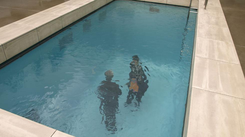 Sumérgete en esta piscina falsa en un museo de Japón - 1