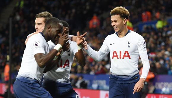 Tottenham vs. Leicester City EN VIVO: se miden por la fecha 16 de la Premier League. (Foto: Reuters).