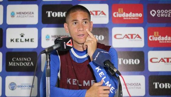 Danilo Ortiz, jugador de Godoy Cruz, se quedó a cargo de un hotel por el éxodo de turistas. (Foto: Godoy Cruz)