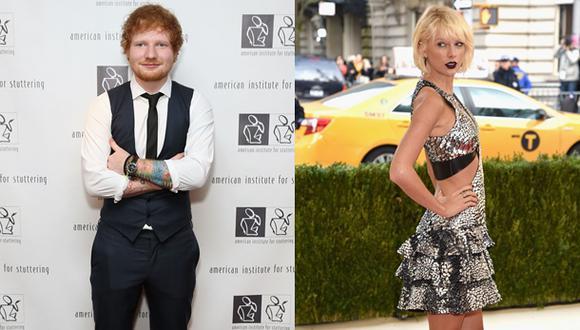 Ed Sheeran y Taylor Swift tienen una estrecha amistad. (Foto: Agencias)
