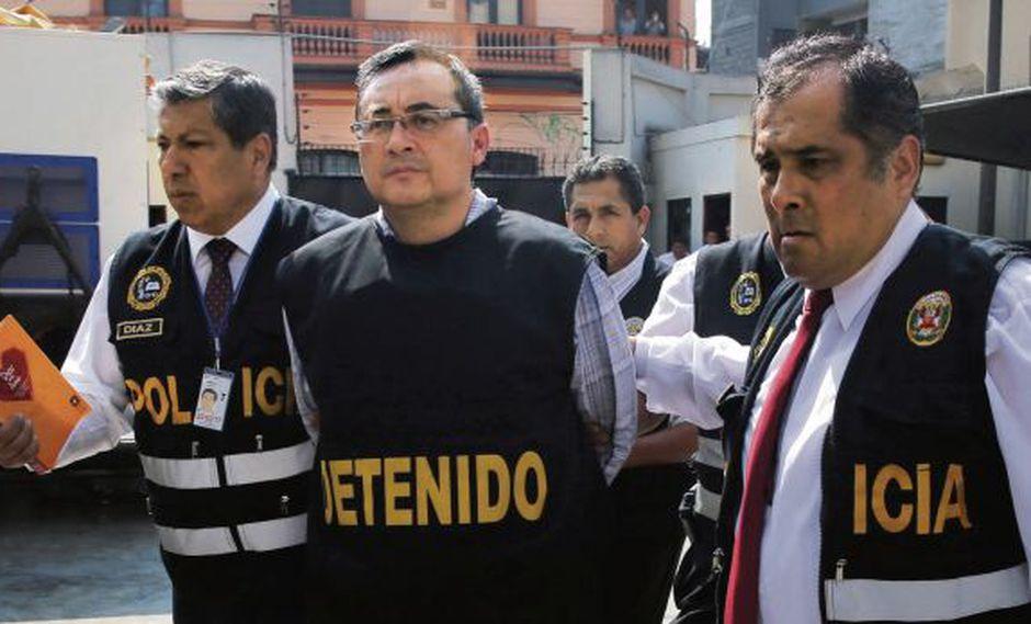 Jorge Cuba, exviceministro de Comunicaciones, es acusado de lavado de activos en el Caso Odebrecht. (Foto: Poder Judicial)