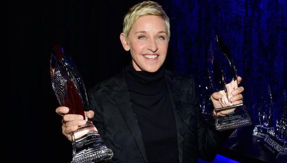 Ellen DeGeneres confirma que dio positivo en prueba de COVID-19. (Foto: AFP)
