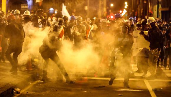 Las protestas contra el gobierno de Manuel Merino llegaron a su sexto día consecutivo. (Giancarlo Ávila)