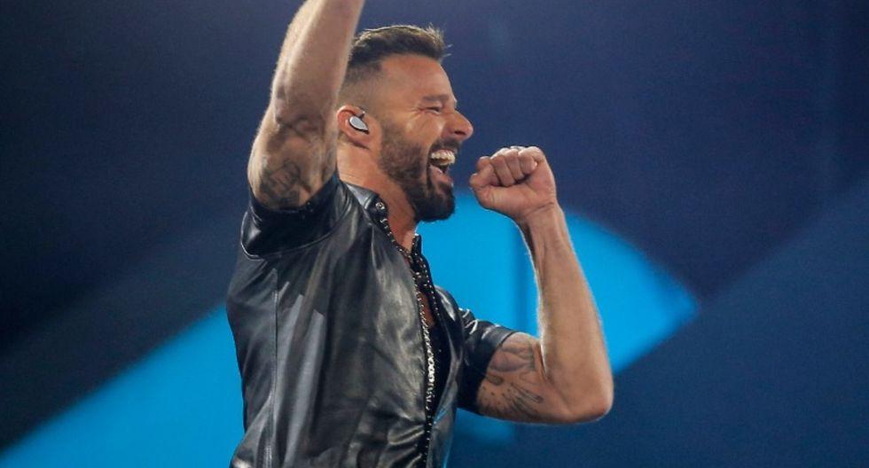 Ricky Martin interpretó sus mejores éxitos en Viña del Mar 2020. (Foto: AFP)