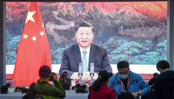 El presidente de China, Xi Jinping, felicitó a Joe Biden por su victoria electoral en Estados Unidos. (Foto de STR / AFP).