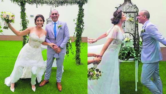 Karla Tarazona reveló imágenes inéditas de su boda con Rafael Fernández. (Foto: captura de video)