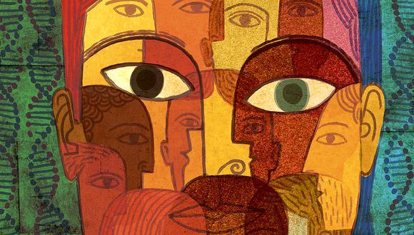 El racismo existe sustentado en una idea equivocada de supremacía de rasgos fenotípicos. Ilustración: Víctor Aguilar.