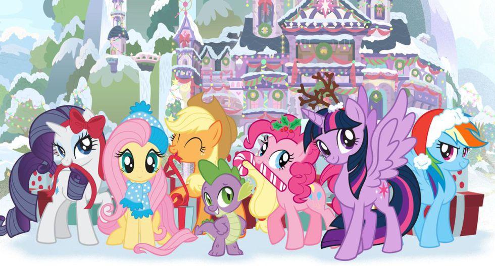 """""""My Little Pony: El mejor regalo""""- Niños y familia - 1 de diciembre. (Fuente: Netflix)"""
