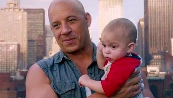 En la octava temporada, todos nos enteramos que Dominic Toretto tenía u hijo con Elena (Foto: Universal Pictures)