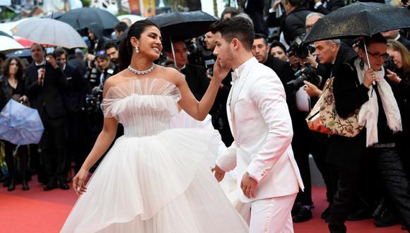 El cantante Nick Jonas agradeció a la vida por conocer a su esposa Priyanka Chopra.(Foto de Chistophe Simon / AFP).