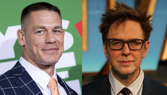 """John Cena y James Gunn preparan una serie de """"Suicide Squad"""" en HBO Max. (Foto: AFP/Valerie Macon/Daniel Leal-Olivas)"""