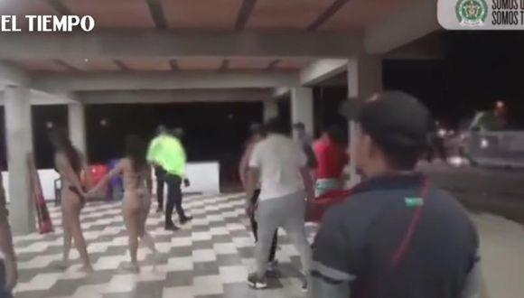 En Villavicencio, más de 40 personas fueron encontradas en una fiesta.  Foto: EL TIEMPO/ GDA