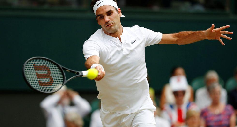 Roger Federer venció en tres sets a Lajovic y avanzó a tercera ronda de Wimbledon. (Foto: Agencias)
