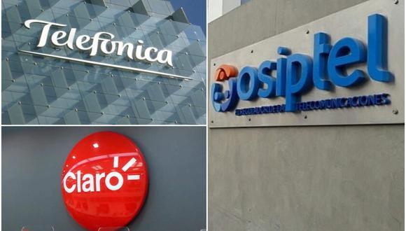 El Osiptel ratificó las multas contra los operadores Telefónica y Claro. (Foto: GEC)