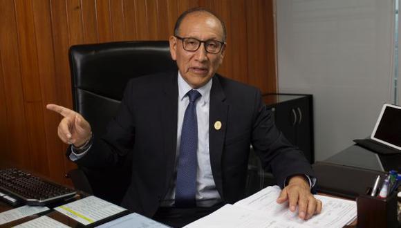 Mariano Cucho, fue gerente general del Ministerio Público. (Foto: Archivo El Comercio)