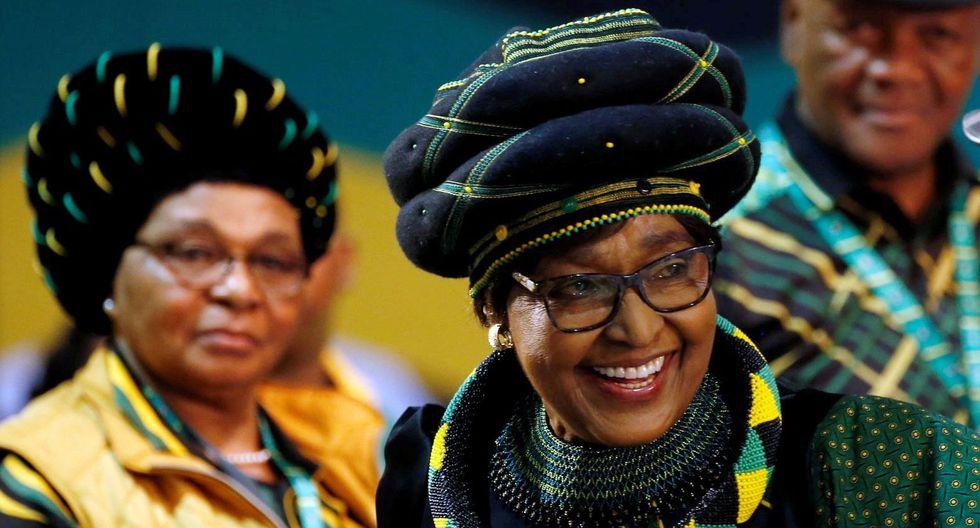 Muere Winnie Mandela, ex esposa del ex presidente sudafricano Nelson Mandela. (Foto: Reuters).